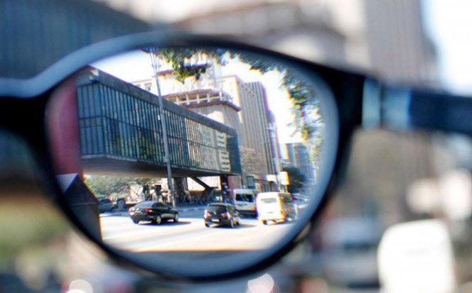 Ensaio fotográfico mostra o efeito da miopia