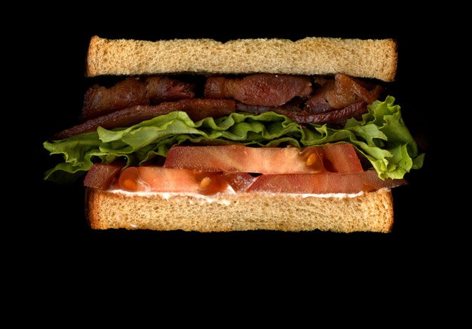 Ensaio fotográfico mostra qual o recheio de diversos sanduíches