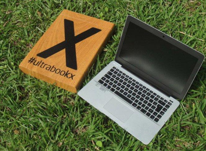 Você consegue descobrir a marca desse ultrabook?