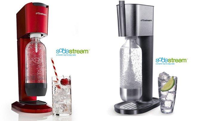 Máquina para fazer refrigerante em casa