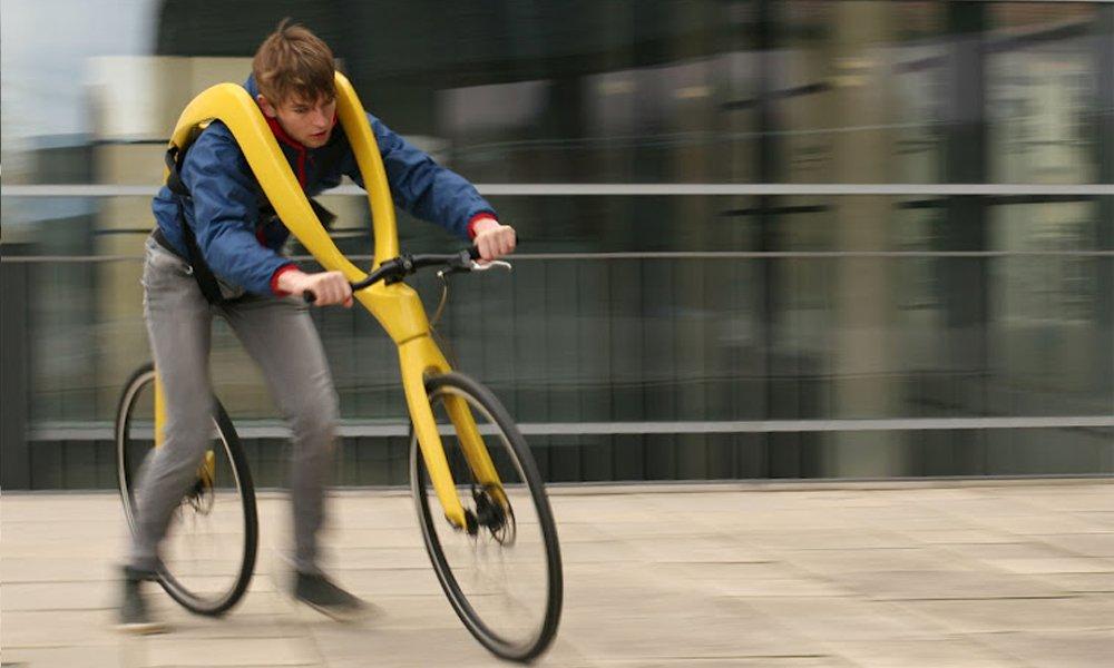 Conheça a bicicleta sem pedais