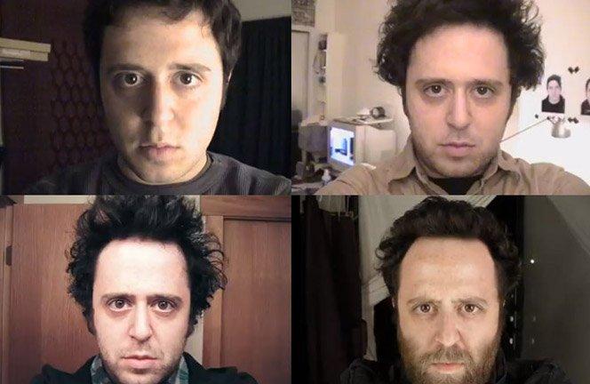 Homem tira uma foto por dia durante 12 anos