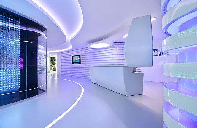 Escritório Futurista da IBM na Italia
