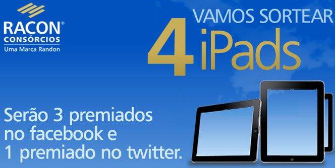 Concorra a 3 iPads com o seu like no Facebook
