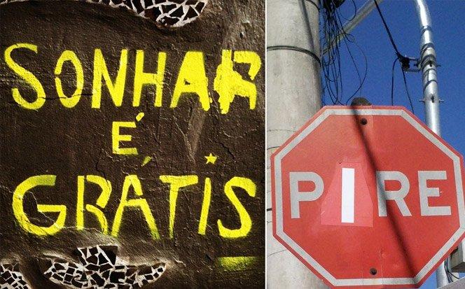 Projeto brasileiro mostra o que as ruas falam