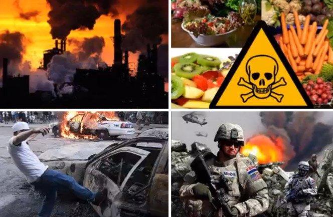 Se uma grande crise acontecer no mundo, você sobreviverá?