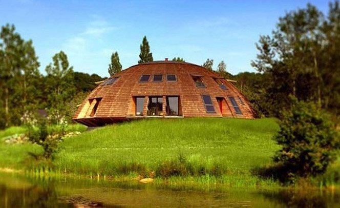 Casa que se move de acordo com a luz do Sol