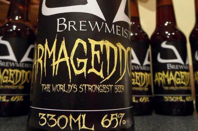 A cerveja mais forte do mundo