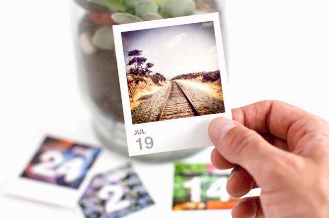 Crie um calendário para 2013  usando as suas fotos do Instagram