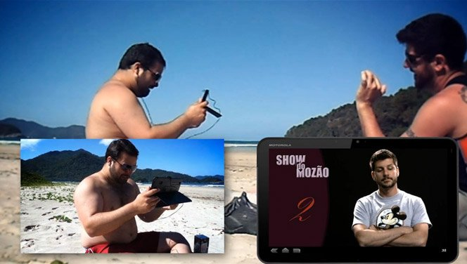 Um lindo e tecnológico pedido de casamento na praia