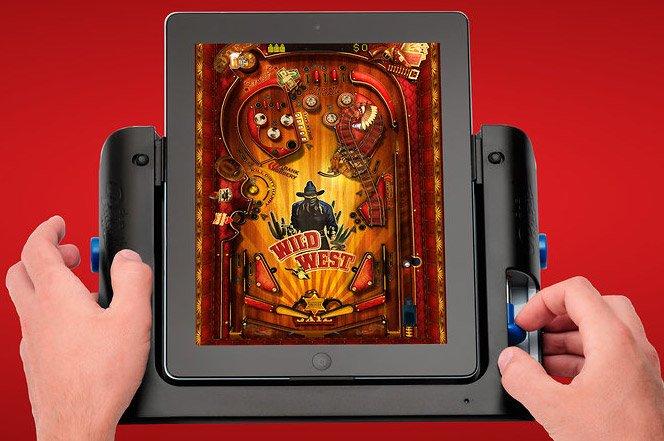 Uma máquina de pinball no iPad