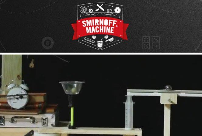 SMIRNOFF® quer a sua ajuda para criar uma máquina de fazer caipiroska.