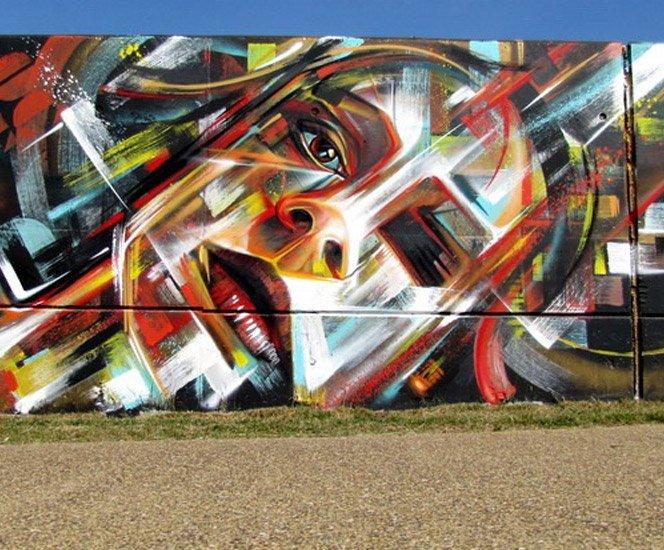 O grafite de Steve Locatelli