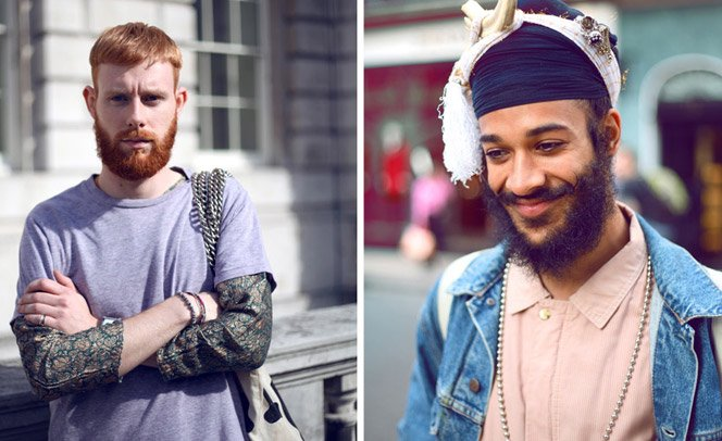 Fotógrafo passa 100 dias fotografando barbas pelas ruas de Londres