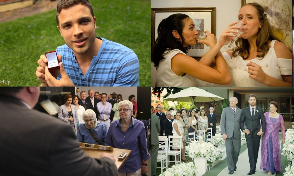 Beleza e luta: casamentos gays no Brasil e no mundo