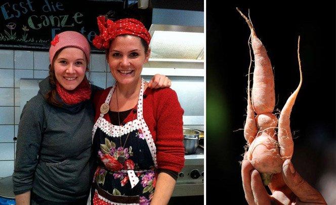 Culinary Misfits cria pratos com comidas que seriam descartadas por restaurantes