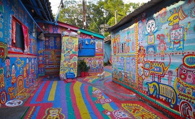 Como um homem conseguiu mudar o destino de uma aldeia inteira com cores