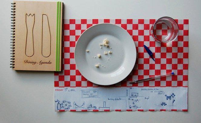 Objeto útil no almoço dos criativos