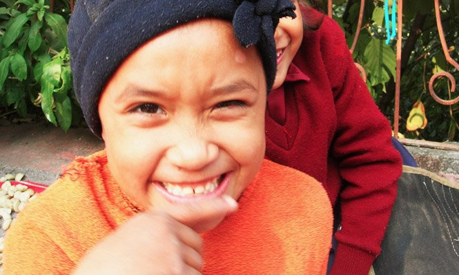 Escola na India ensina às crianças a lição mais valiosa da vida