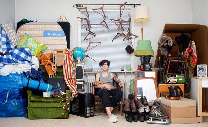 O que é seu de verdade? – Série mostra pessoas ao lado de seus bens