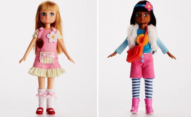 Nova concorrente da Barbie tem corpo de criança