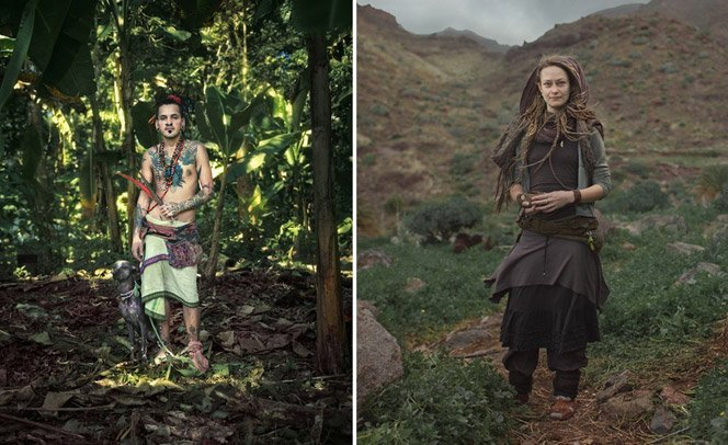 Fotógrafo retrata realidade secreta de grupo nômade com leis baseadas no amor<!--:en-->Photographer documents secret reality of a nomad group with love-based laws