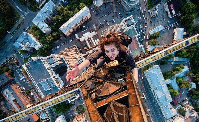 Se você tem medo de altura, não veja essas fotos