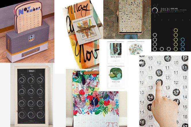Calendários Criativos para 2013