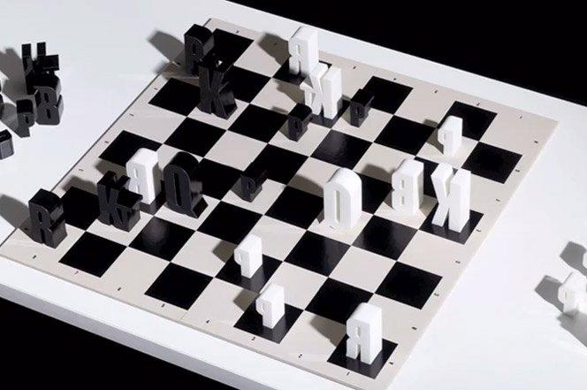 Xadrez Tipográfico