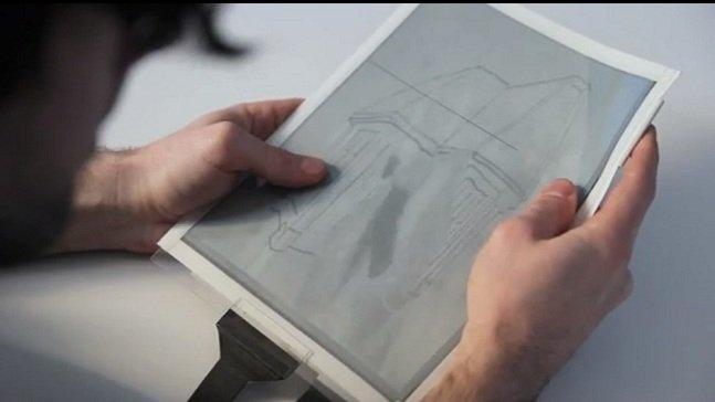 """Conheça o """"Tablet"""" de papel – você pode vir a ter um desses no futuro"""