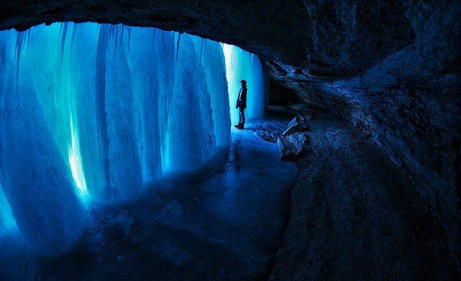 Um cachoeira como você nunca viu antes