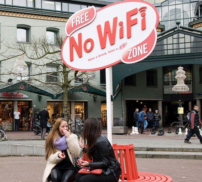 Kit Kat lança campanha por uma vida mais offline