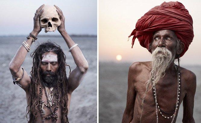 Fotógrafo retrata homens santos de diferentes religiões