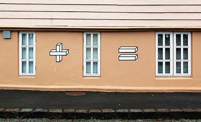 A matemática em forma de intervenção urbana