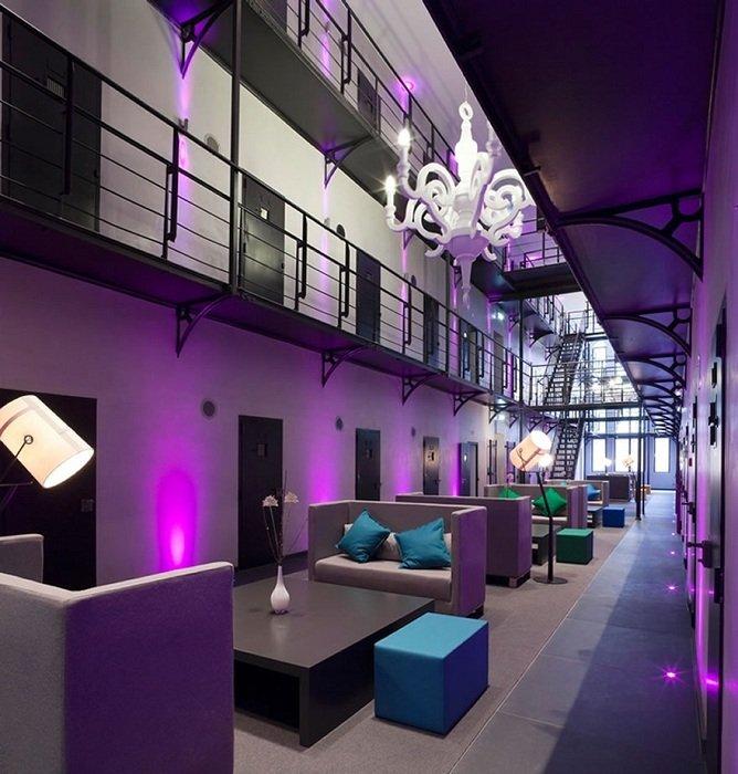 Uma prisão do século XIX transformada em hotel de luxo