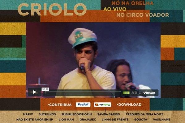 Artistas brasileiros que disponibilizamdownload de suas músicas grátis na web