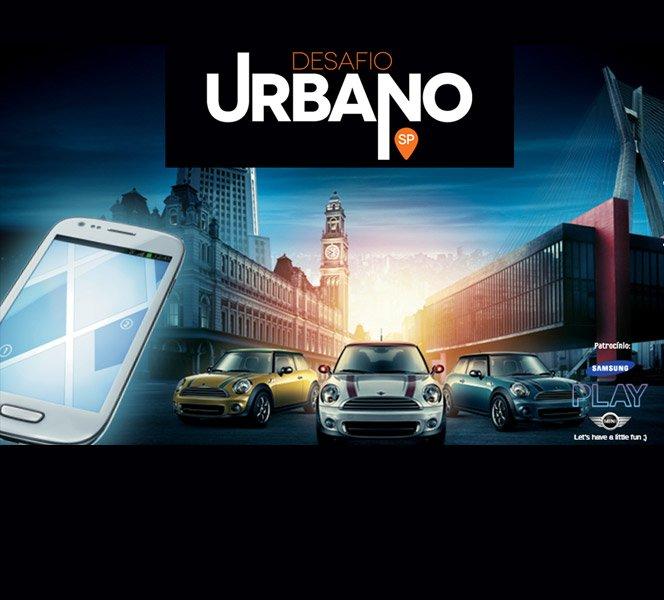Desafio Urbano da Samsung em SP tem prêmio de 1 MINI + Galaxy S3 Mini