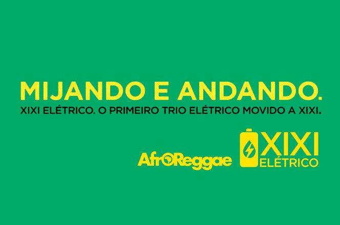 Um mictório que vai gerar energia para o trio elétrico do AfroReggae