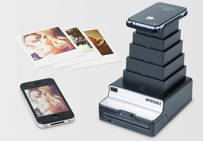 Transforme suas fotografias do iPhone em Polaroids reais e instantâneas