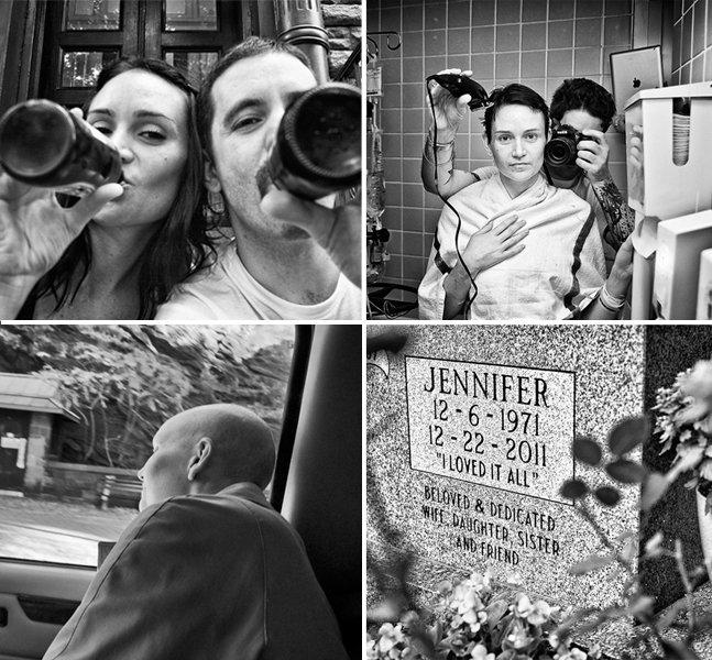 Marido registra a batalha de sua mulher contra o câncer em fotos emocionantes