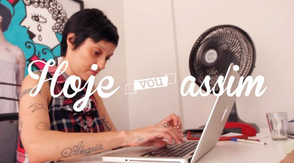 Ela largou a redação publicitária pra criar um blog de moda de sucesso