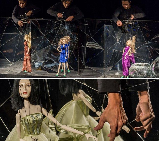 Estilista dispensa modelos e usa marionetes em seu desfile do SPFW