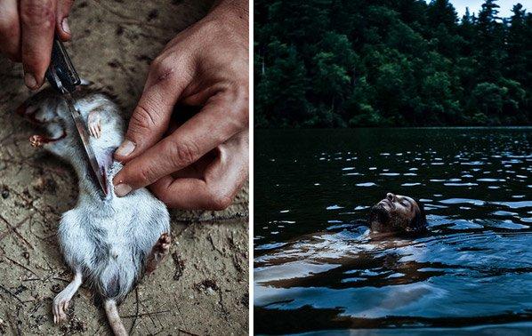 Fotógrafo registra imagens de festival que promove conexão com a natureza