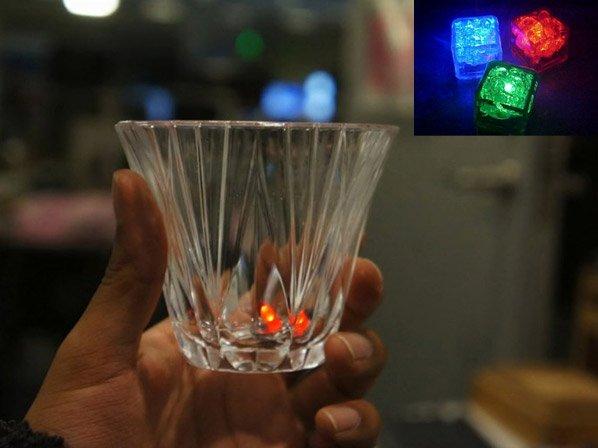Cubos de gelo inteligentes mostram quando é hora de parar de beber