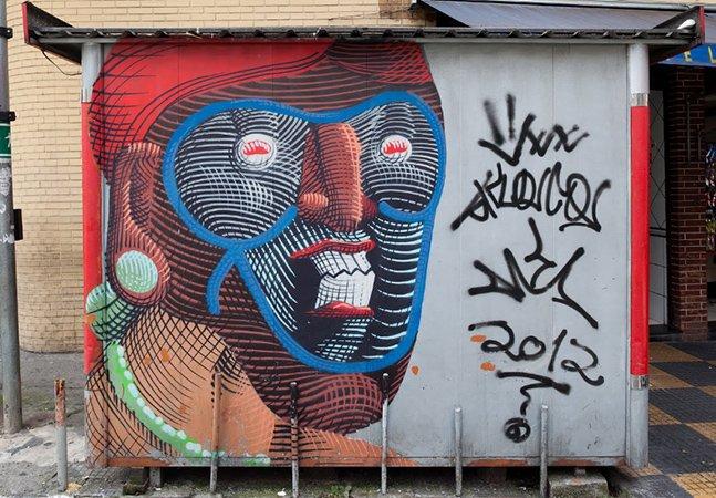 Arte de rua de SP agora também faz parte do acervo do Google Art Project