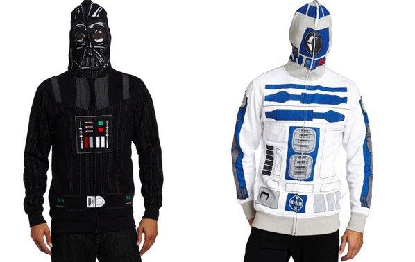 Jaquetas inspiradas em personagens do Star Wars