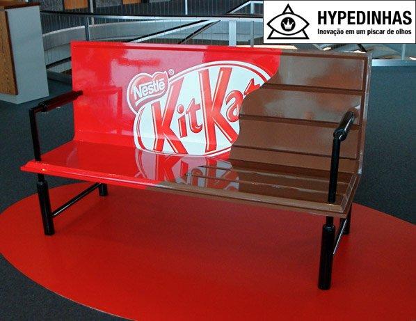 O anúncio mais simples e eficiente de KitKat que você já viu