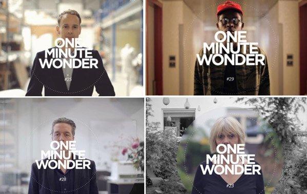 Projeto traz histórias inspiradoras em 60 segundos