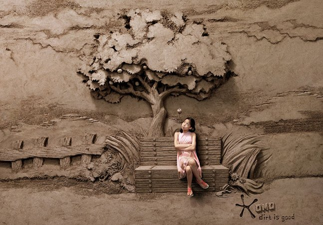 Artista usa 18 toneladas de areia pra construir incríveis esculturas