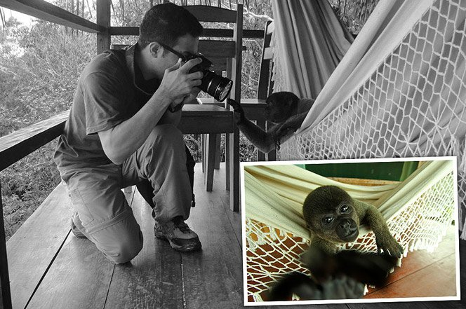 Projeto fotográfico retrata o exato momento de uma foto e seu fotógrafo